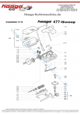 Ersatzteile Haaga 477 mit I Sweep
