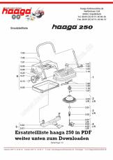 Ersatzteile Haaga 250