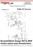 Ersatzteile Haaga 497 mit I Sweep