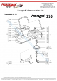 Ersatzteile Haaga 255